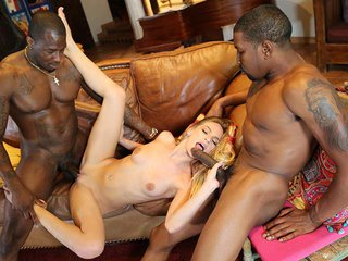 Sydney Cole interracial porn