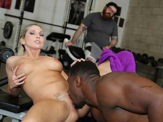 Christie Stevens interracial porn