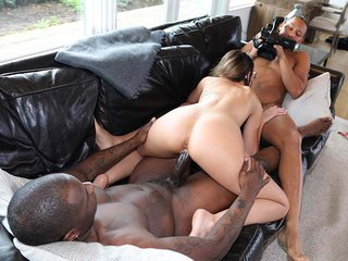 Michele James interracial porn