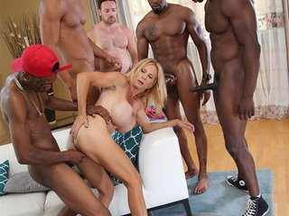 Brooke Tyler interracial porn