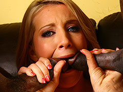 Super hot blonde Barbie Cummings gets her pussy pounded