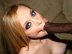 Aiden Starr eating Watermelon and getting banged