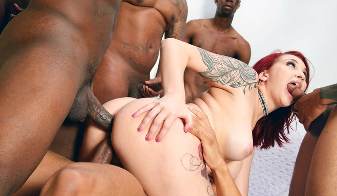 Amber Ivy Interracial Porn Video