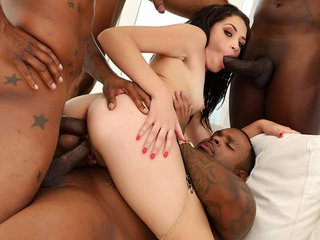Avi Love interracial porn