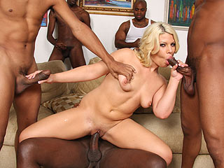 Heather Huntley interracial porn