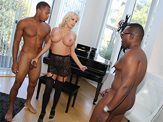 Savannah Stevens interracial porn