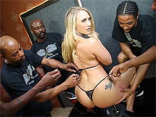 AJ Applegate interracial porn