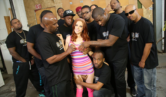 Penny Pax Interracial Porn Video