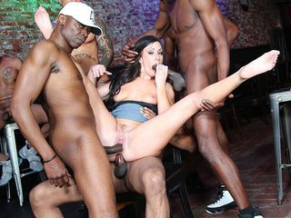 Jennifer White interracial porn