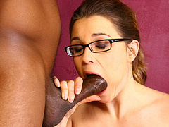 Katie affects for big black cock