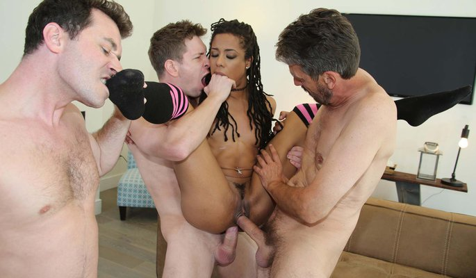 Kira Noir Interracial Porn Video