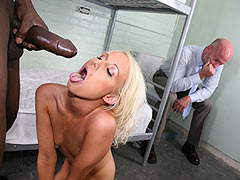 Alexia Sky banged in the Prison