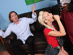 Jada Stevens gets banged front of her father