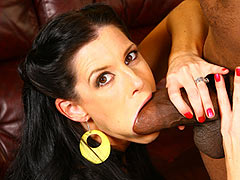India Summer getting a big black cock