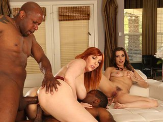 Lauren Phillips & Spencer Bradle interracial porn