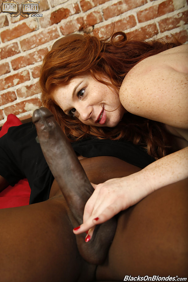 Blonds love black cock