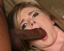 Mandy Lou gets woken by a horny black Man from Blacks on Blondes