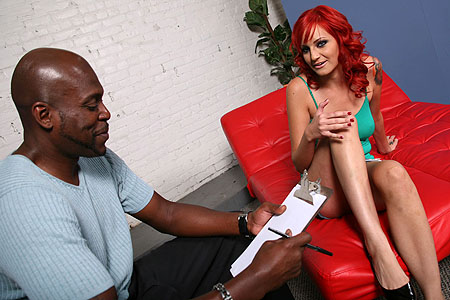 Phoenix Askani craves her therapist's big black cock from Blacks on Blondes