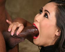 Jessica Bangkok sucks and fucks a black cock in front of her cuc from Cuckold Sessions