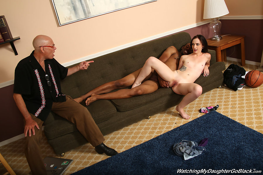 father watching daughter fuck